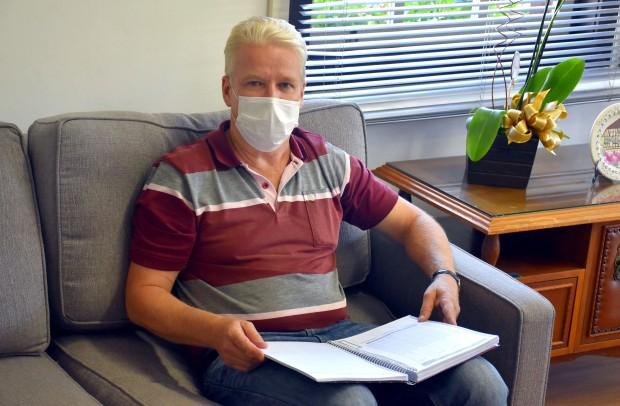 O secretário municipal de Saúde e Assistência Social, Martim Wissmann