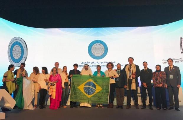 Representações culturais do Brasil que participaram da Assembleia IOV World | Foto: Divulgação