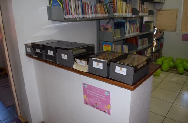 Exposição dos arquivos dos cadastros dos leitores da Biblioteca - Crédito das fotos: Jordana Kiekow | Comunicação PMNP