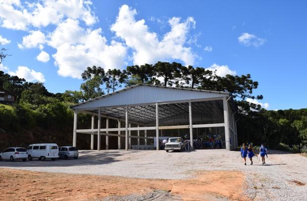 Quadra Poliesportiva Municipal Lino Grings - Crédito das fotos: Jordana Kiekow | Comunicação PMNP