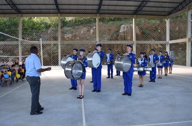 Banda Marcial de Nova Petrópolis - Crédito das fotos: Jordana Kiekow | Comunicação PMNP