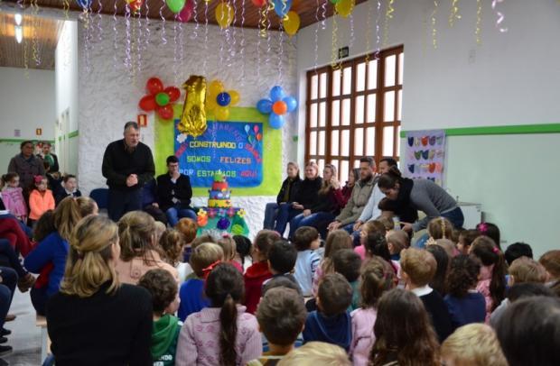 Escola Construindo o Saber atende 138 crianças em turno integral