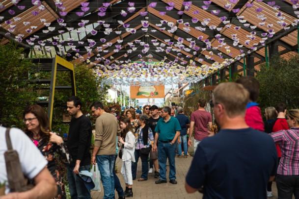 Foto de capa da notícia: Mais de 40 mil pessoas prestigiam Festival da Primavera – Frühlingsfest de Nova Petrópolis