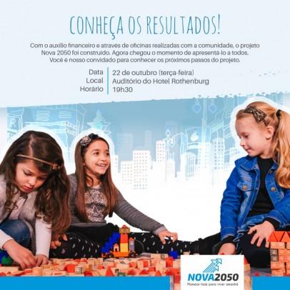 Foto de capa da notícia: Resultados do Nova 2050 serão apresentados dia 22 de outubro
