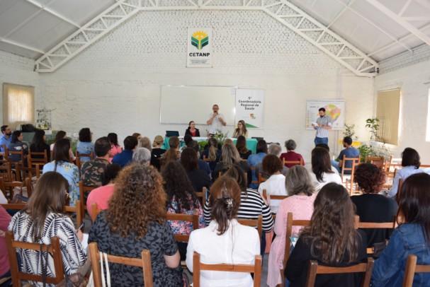 Foto de capa da notícia: Nova Petrópolis recebeu Seminário Estadual de Plantas Medicinais e Fitoterápicos