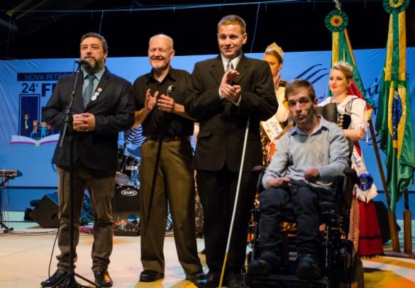 Foto de capa da notícia: Feira do Livro da inclusão inicia em Nova Petrópolis