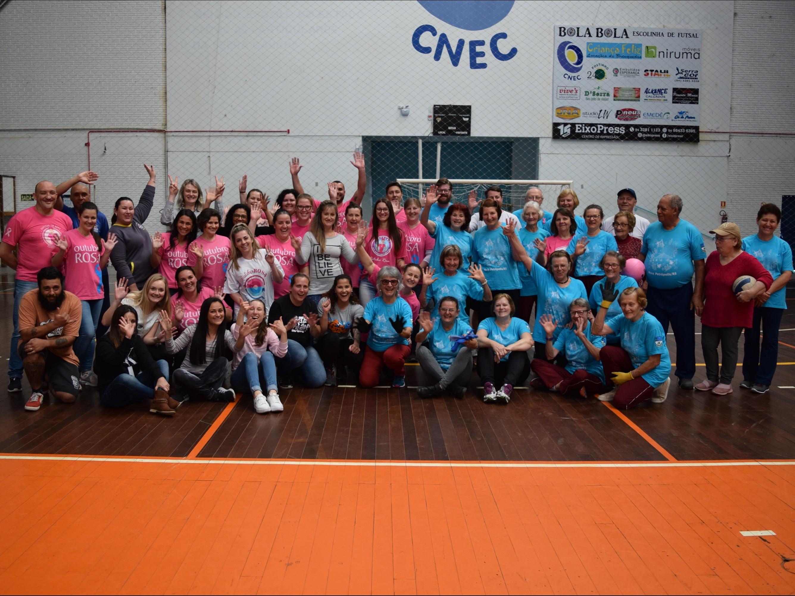 Foto de capa da notícia: Nova Petrópolis promove ações no mês de combate ao câncer de mama