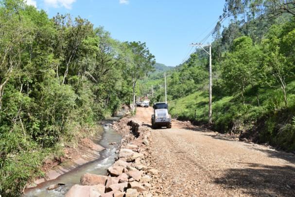 Foto de capa da notícia: Trecho da Rua Estrada Rio Caí interditado a partir de 28 de outubro