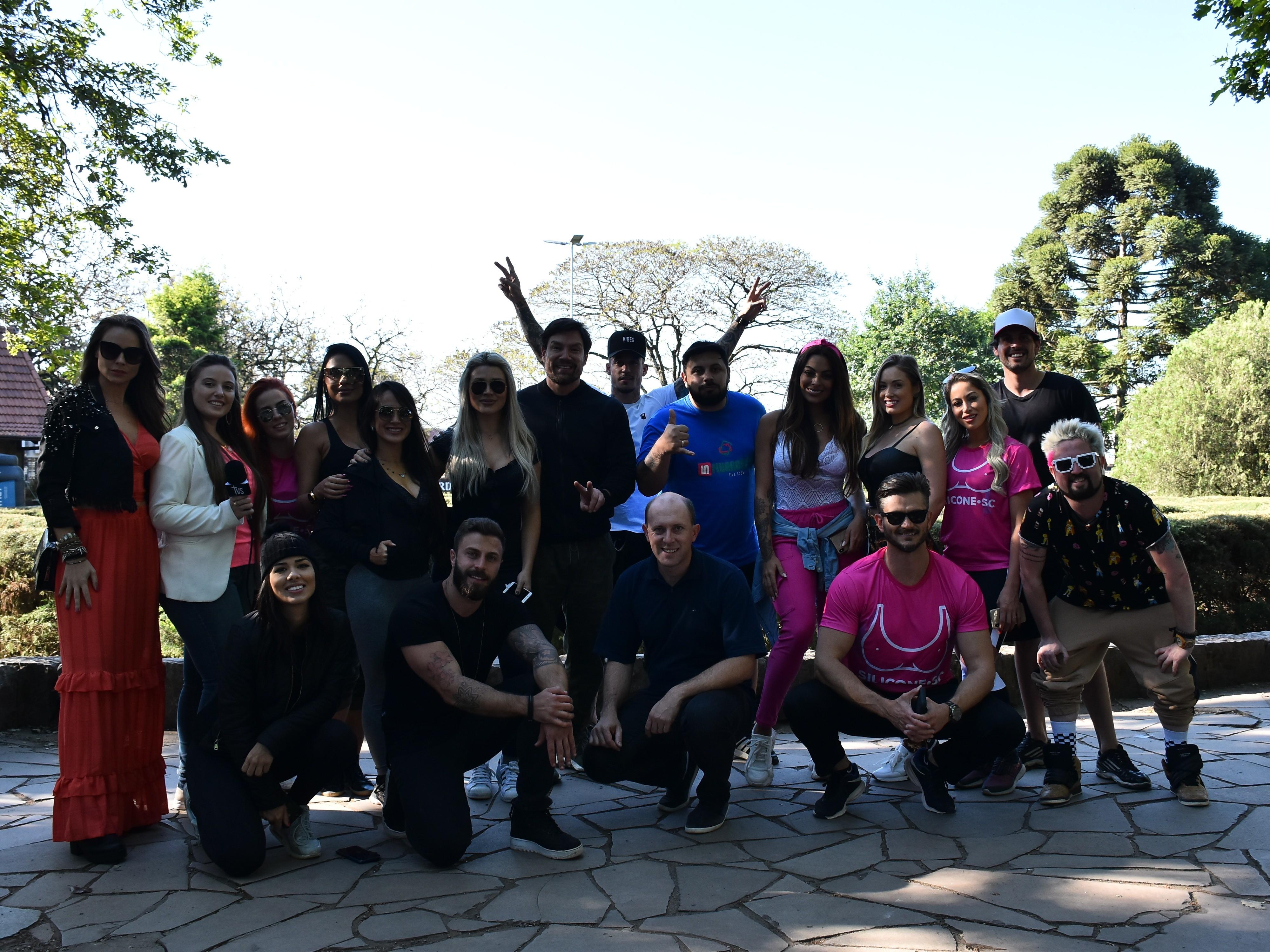 Foto de capa da notícia: Influencers digitais gravam provas de reality show em Nova Petrópolis