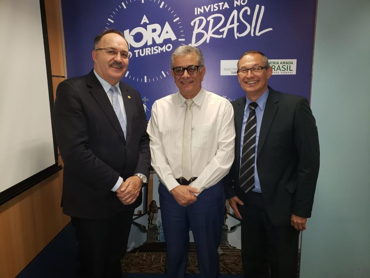 Foto de capa da notícia: Prefeito de Nova Petrópolis busca recursos em Brasília