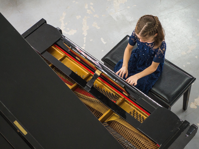 Foto de capa da notícia: Audição do Instituto Sintonia de Música e Arte ocorre dia 8 de novembro na Escola Otto Hoffmann