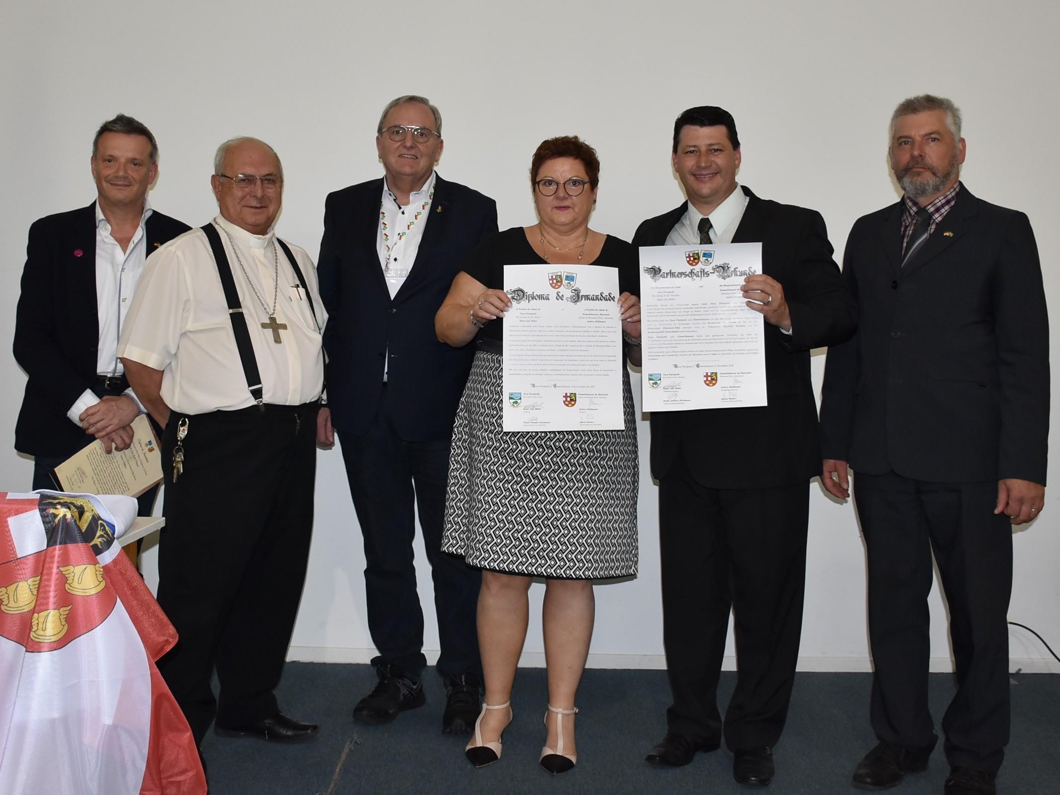 Foto de capa da notícia: Nova Petrópolis celebra irmandade com Emmelshausen