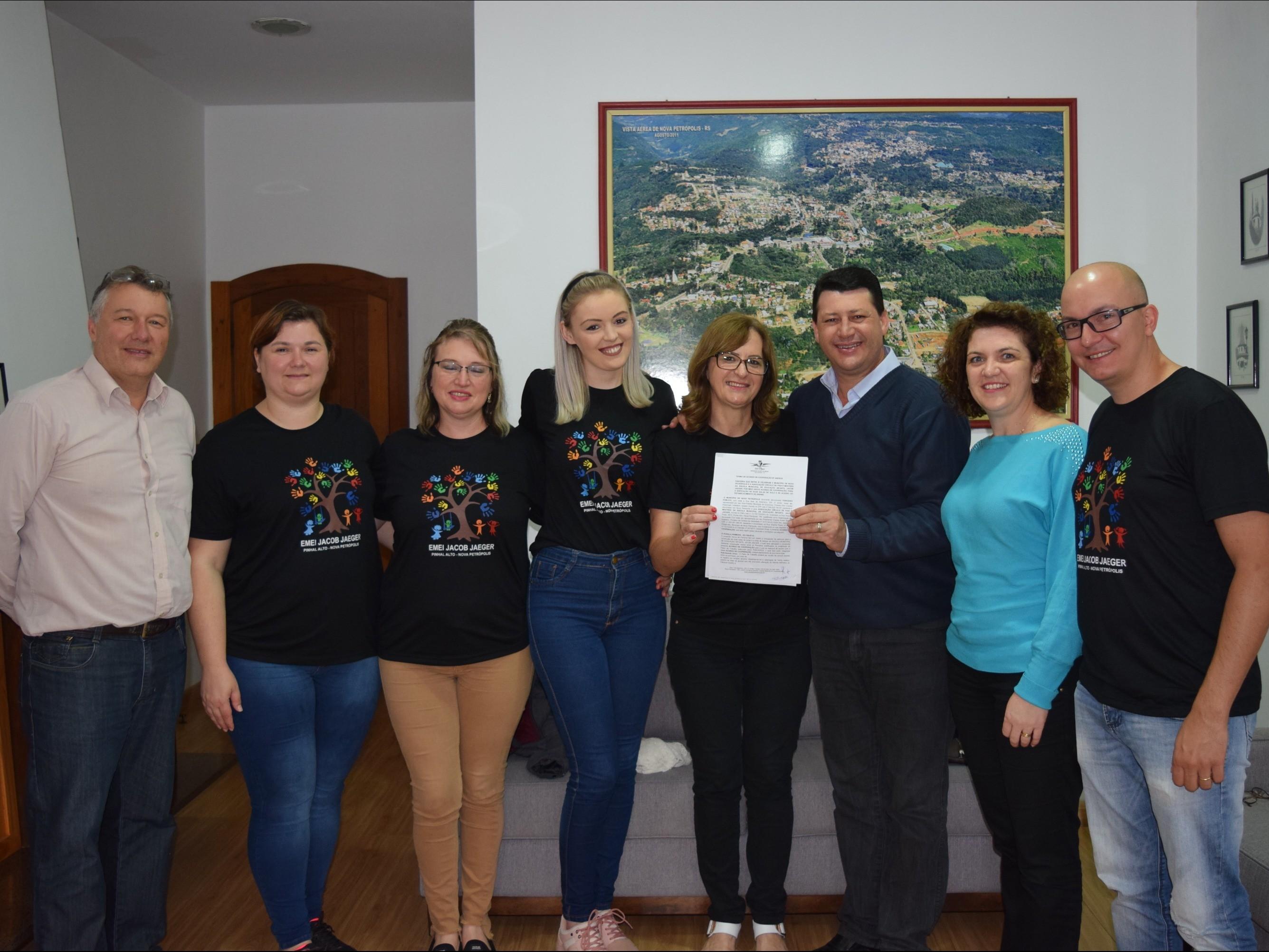 Foto de capa da notícia: Escola Municipal de Educação Infantil Jacob Jaeger será ampliada