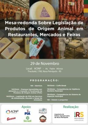Foto de capa da notícia: Nova Petrópolis sedia evento sobre legislação de produtos de origem animal em mercados, restaurantes e feiras