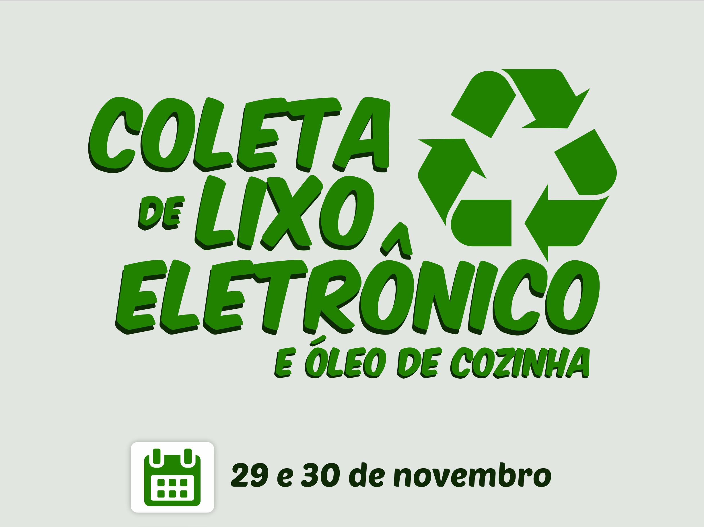 Foto de capa da notícia: Coleta de Lixo Eletrônico será dias 29 e 30 de novembro em Nova Petrópolis
