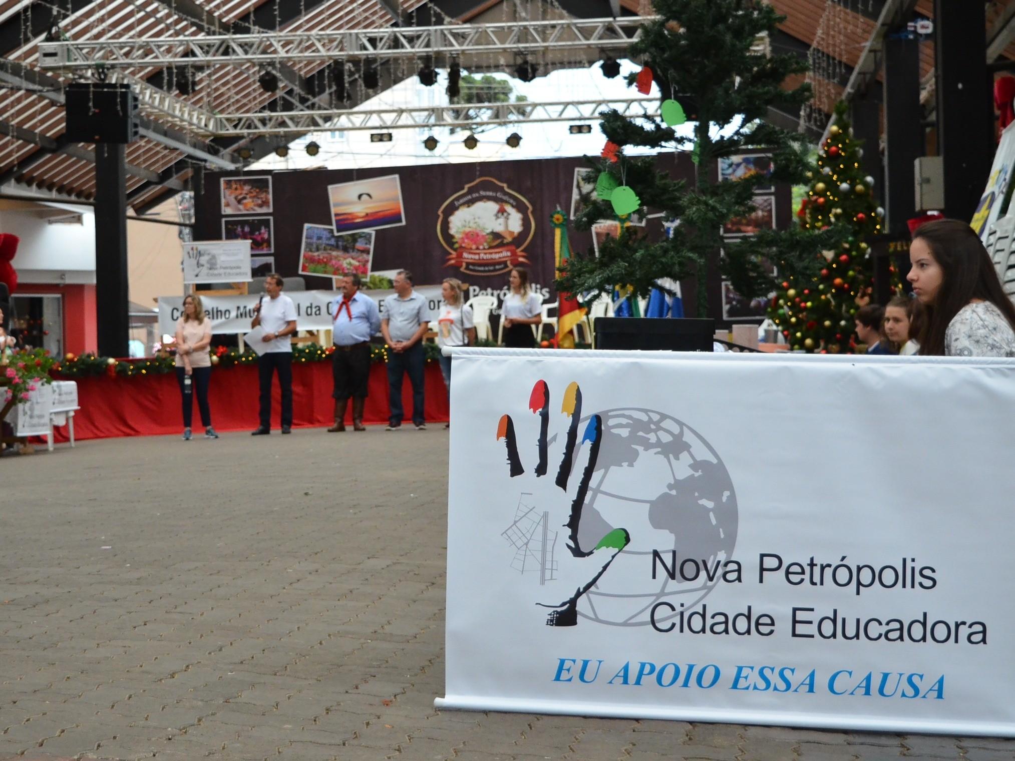 Foto de capa da notícia: Nova Petrópolis realiza evento do Dia Internacional da Cidade Educadora