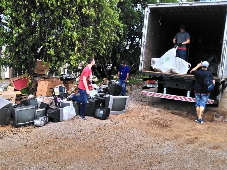 Foto de capa da notícia: Nova Petrópolis coletou quase 11 toneladas de lixo eletrônico