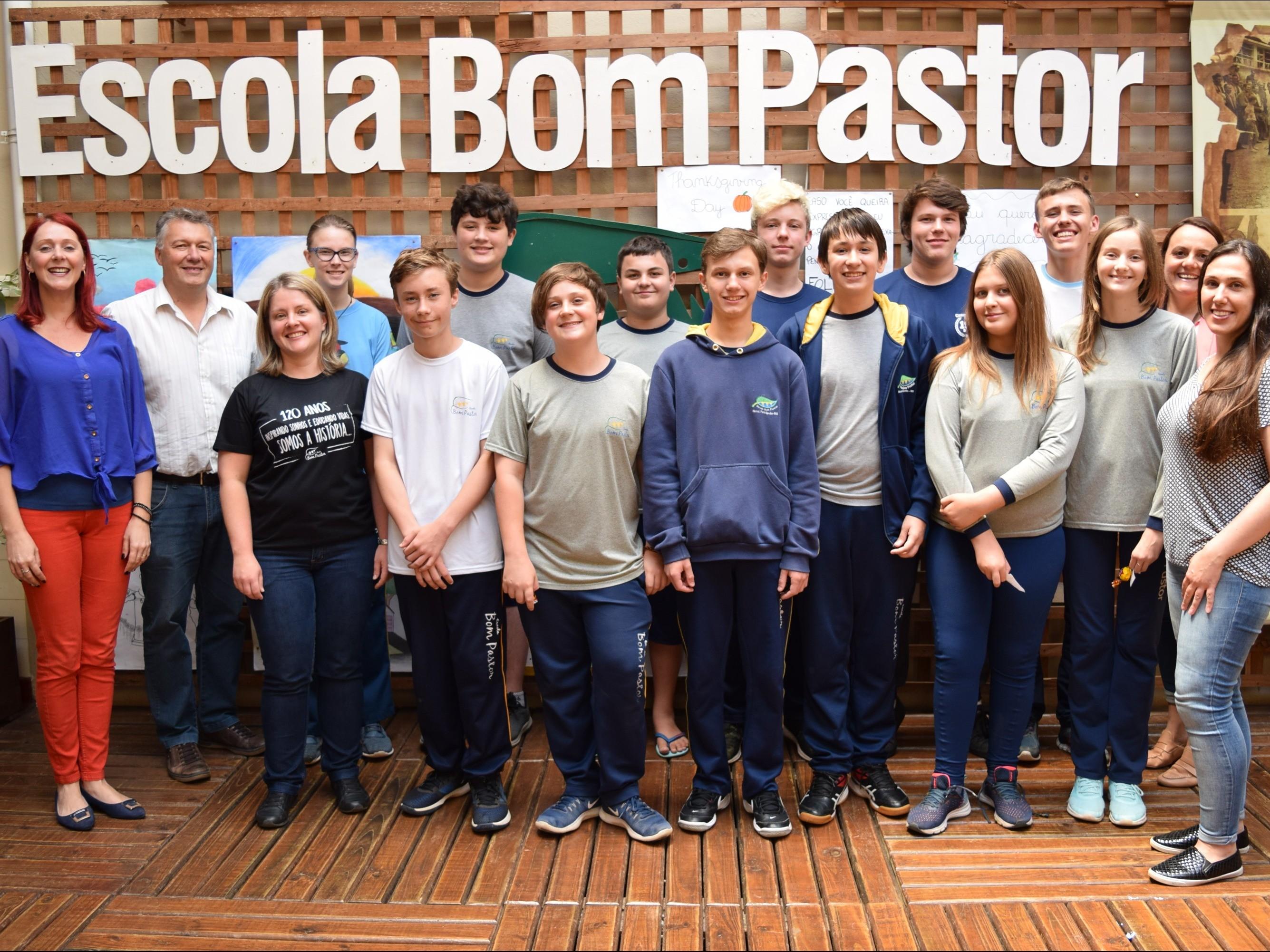 Foto de capa da notícia: Escola Bom Pastor de Nova Petrópolis celebra resultados da OBMEP 2019