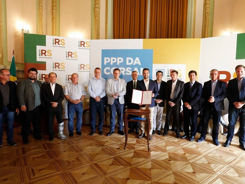 Foto de capa da notícia: Nova Petrópolis assina protocolo de intenções para implantação de PPPs de saneamento básico