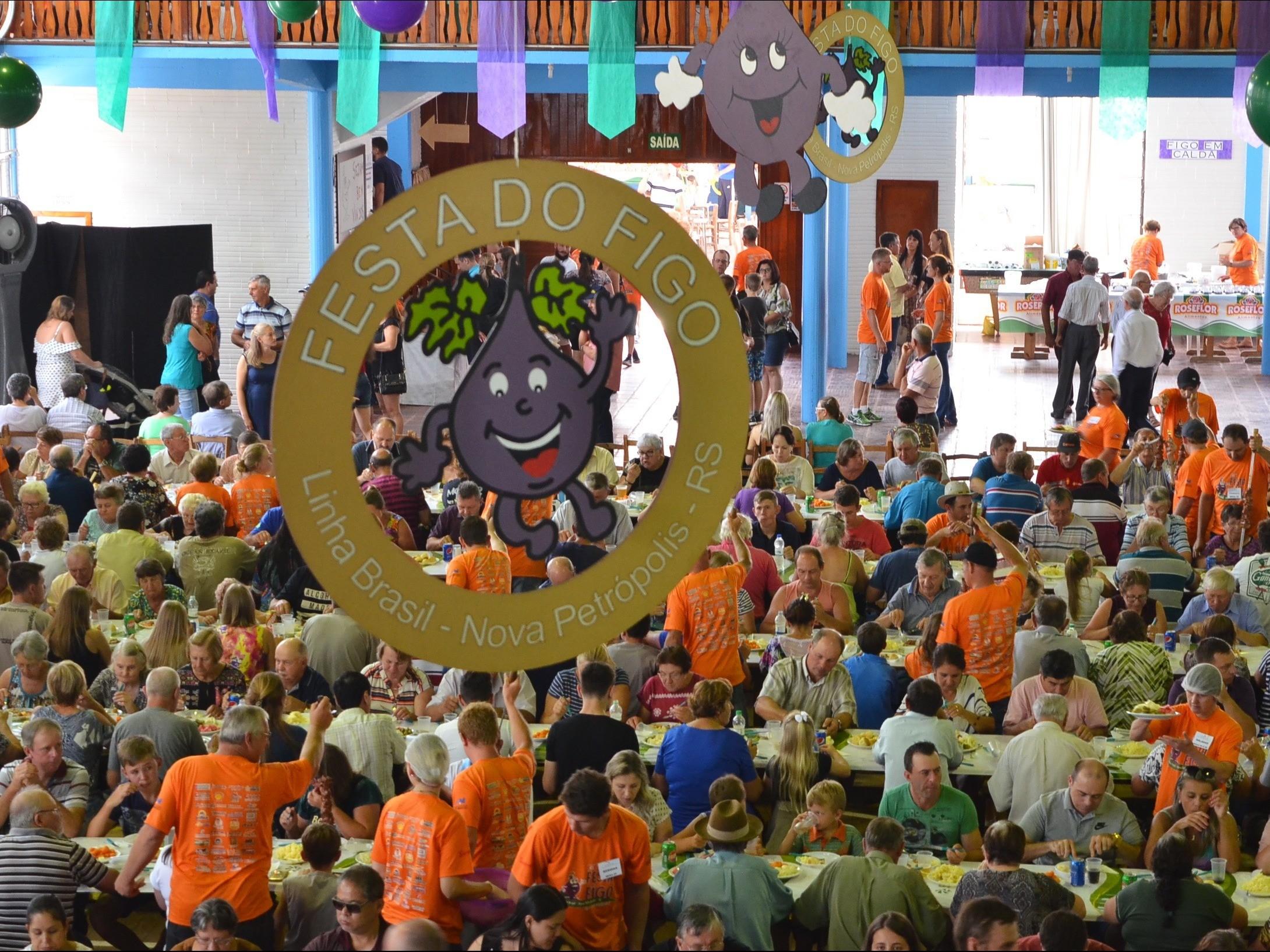 Foto de capa da notícia: Nova Petrópolis sedia a 47ª Festa do Figo dias 1º e 2 de fevereiro