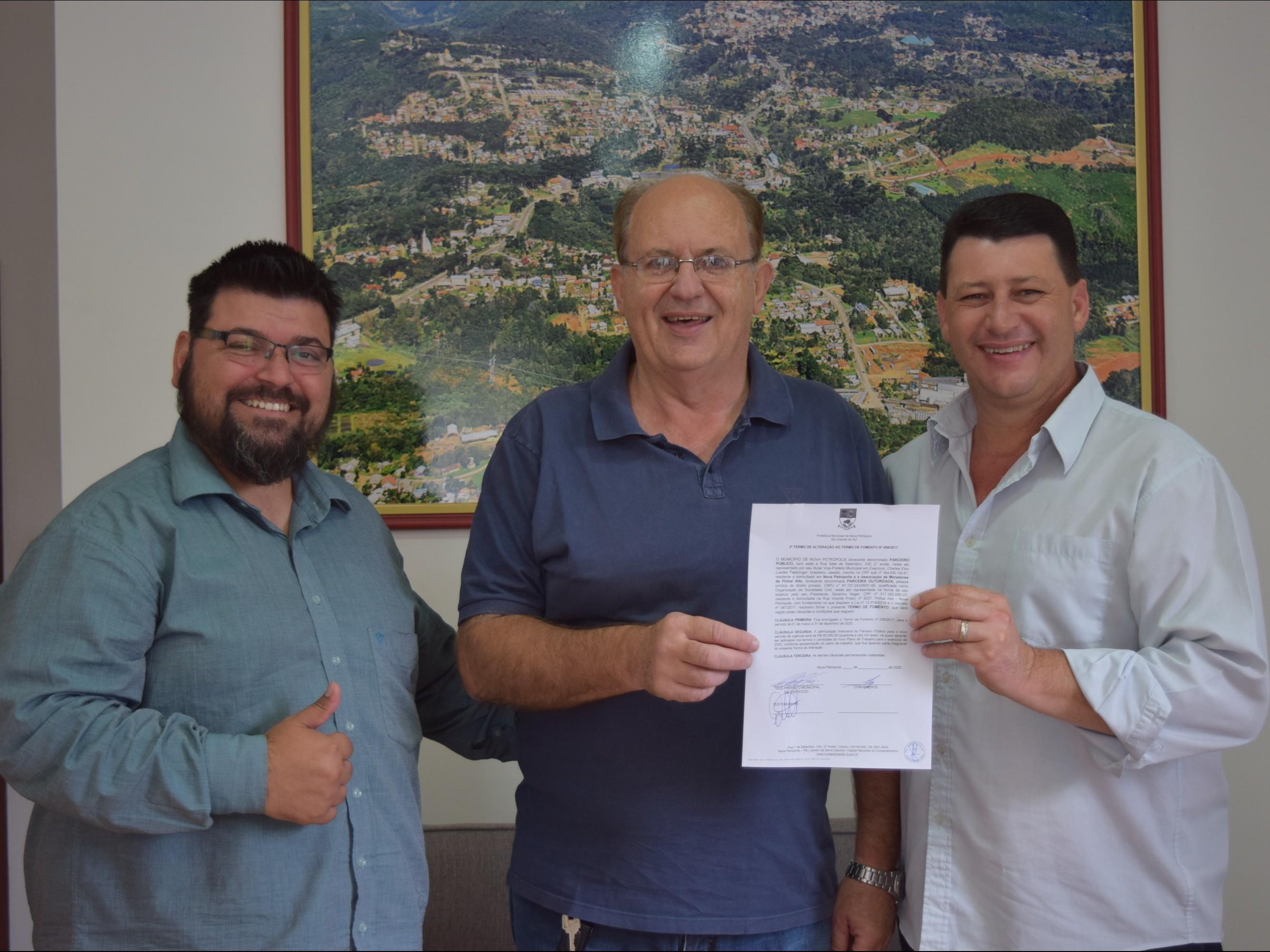 Foto de capa da notícia: Nova Petrópolis investe R$ 48 mil em atividades rurais