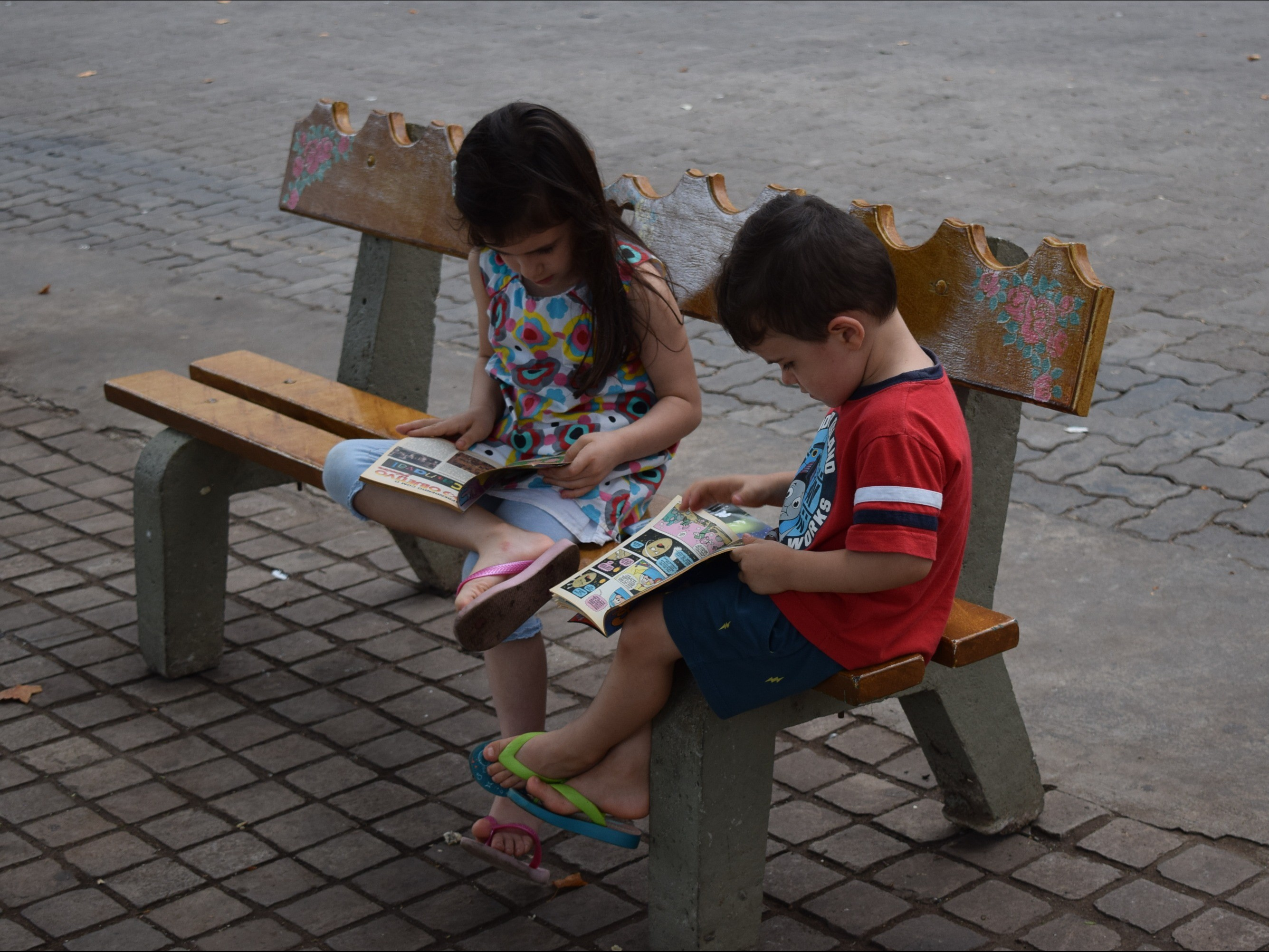 Foto de capa da notícia: IV Gibi Sem Dono cativa leitores de diversas idades