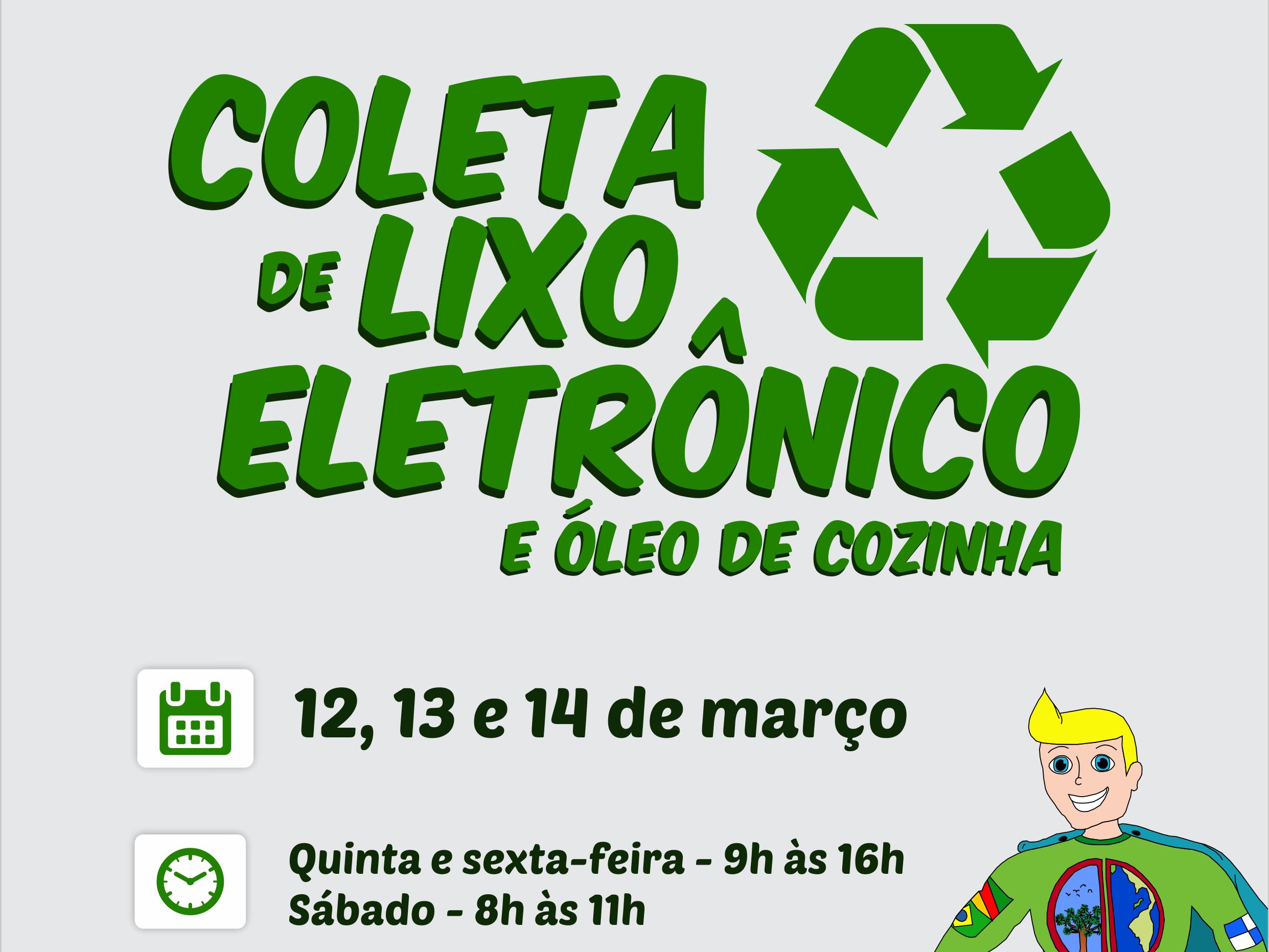 Foto de capa da notícia: Nova Petrópolis promove Coleta de Lixo Eletrônico dias 12, 13 e 14 de março