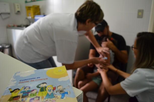 Foto de capa da notícia: Campanha de vacinação contra o sarampo encerra dia 13 de março