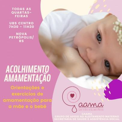 Foto de capa da notícia: Grupo de Apoio ao Aleitamento Materno promove acolhimento na UBS Centro