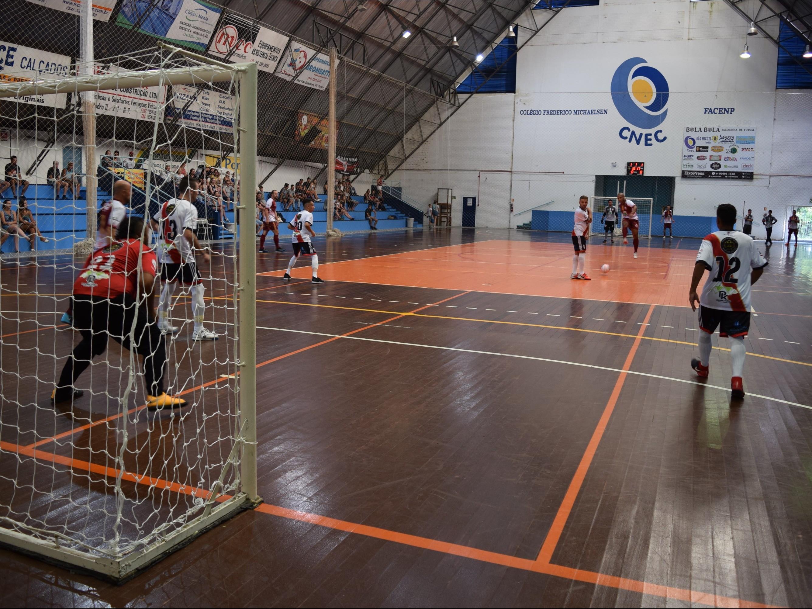 Foto de capa da notícia: Futsal 1ª Divisão terá jogos adiados em Nova Petrópolis