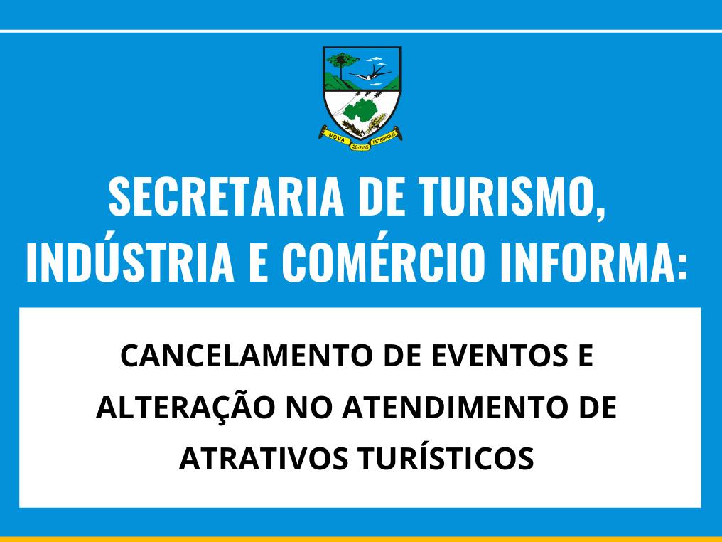 Foto de capa da notícia: Atrativos turísticos e eventos sofrem alterações em Nova Petrópolis