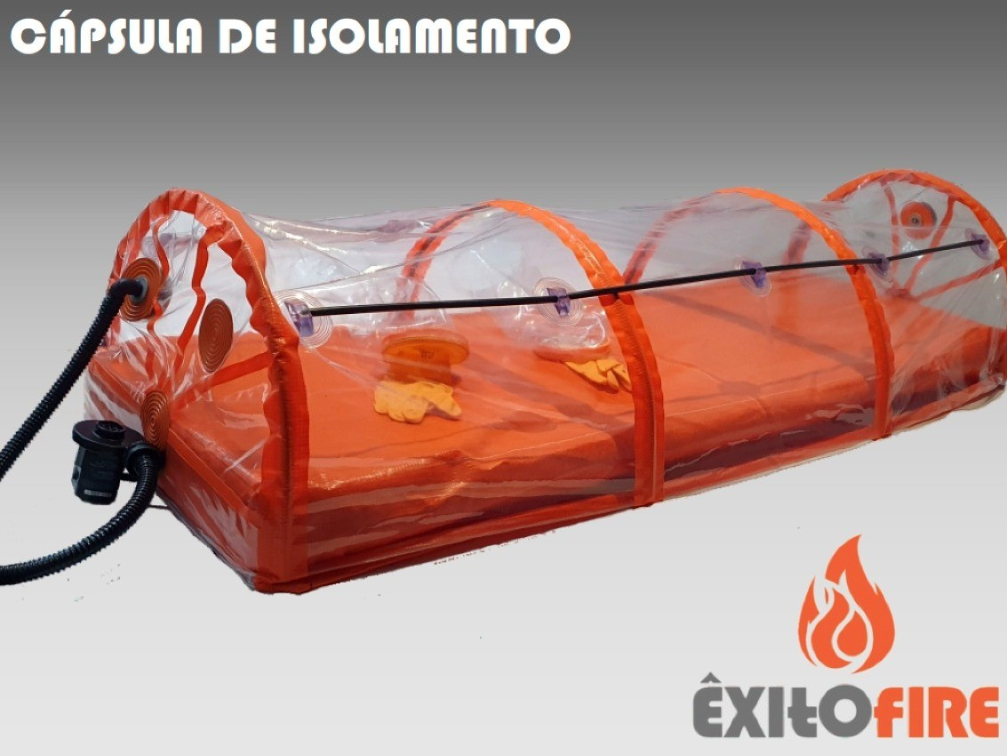 Foto de capa da notícia: Bombeiros Voluntários de Nova Petrópolis arrecadam recurso para compra de cápsula de isolamento