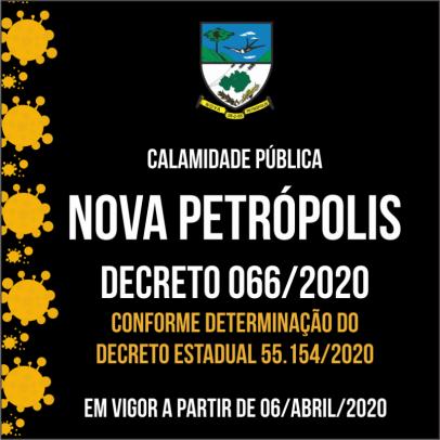 Foto de capa da notícia: Nova Petrópolis publica novo Decreto Municipal
