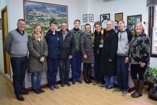 Foto de capa da notícia: Alunos de Nova Petrópolis vencem concurso Estadual de Língua Alemã