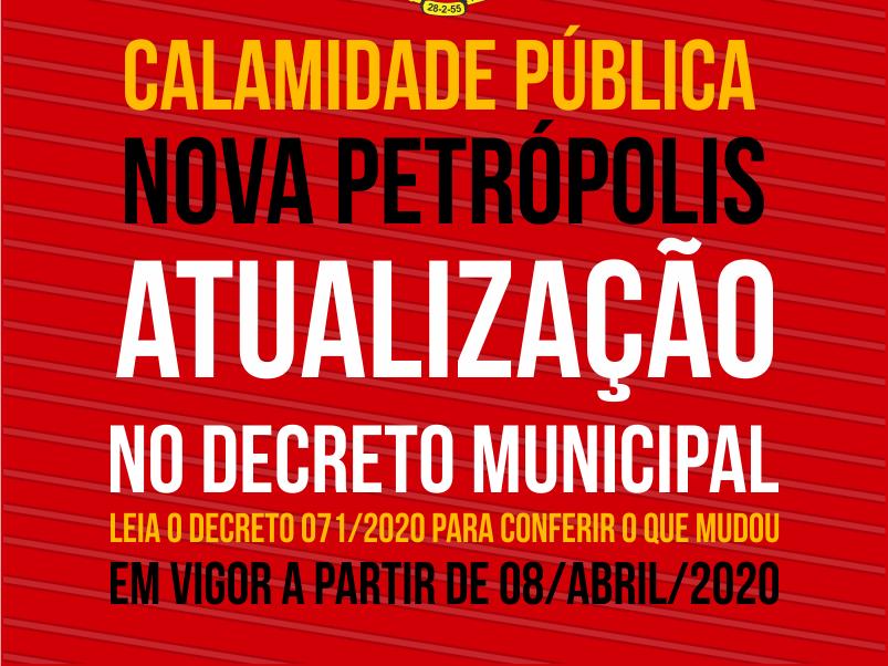 Foto de capa da notícia: Decreto Municipal retoma prestação de serviços de higiene e limpeza