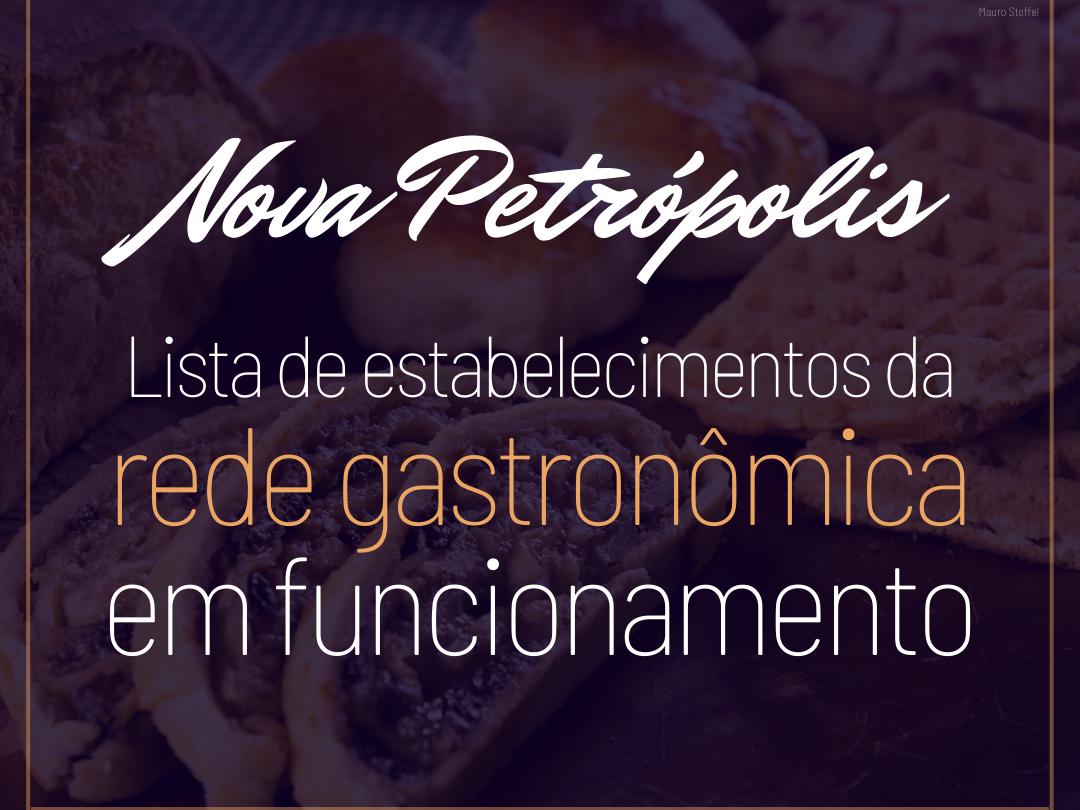 Foto de capa da notícia: Nova Petrópolis informa estabelecimentos da rede gastronômica em funcionamento