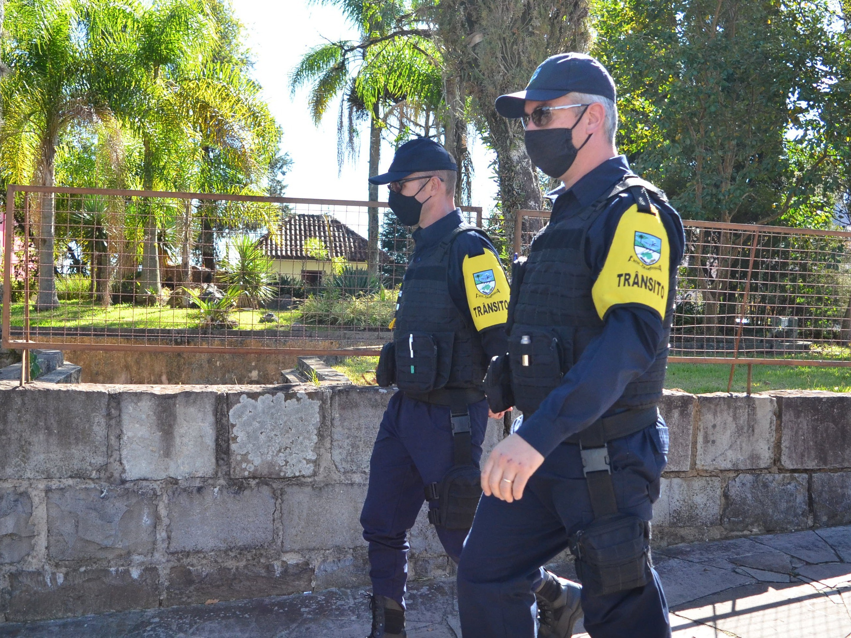 Foto de capa da notícia: Agentes de Trânsito atuam em Nova Petrópolis