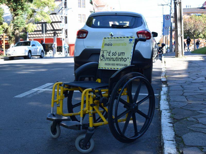 Foto de capa da notícia: Nova Petrópolis promove ação de conscientização no trânsito
