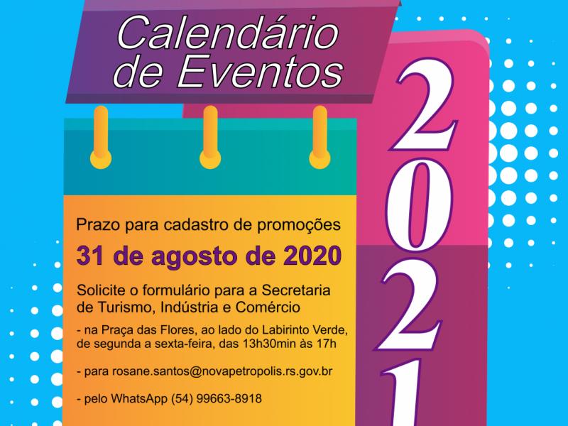 Foto de capa da notícia: Nova Petrópolis abre cadastro para Calendário de Eventos 2021