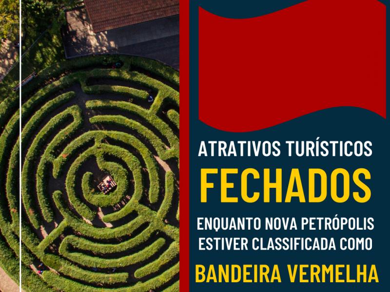 Foto de capa da notícia: Ninho das Águias estará fechado enquanto Nova Petrópolis permanecer na Bandeira Vermelha