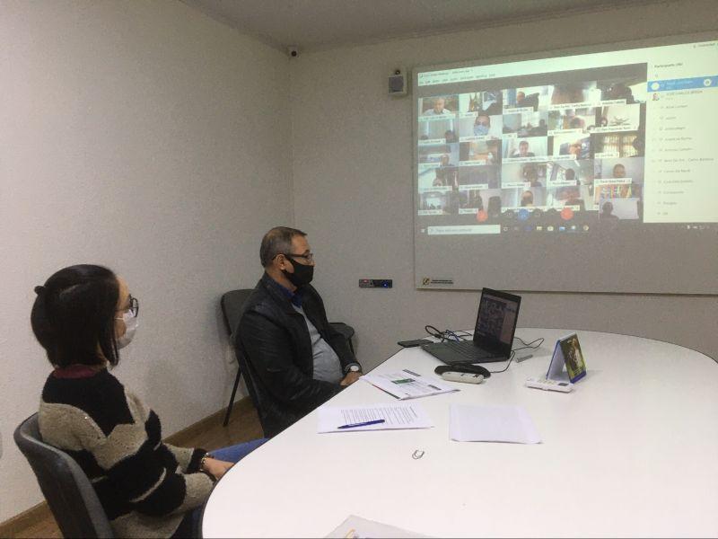 Foto de capa da notícia: Nova Petrópolis presente em reunião virtual que discutiu Protocolos de Distanciamento Social