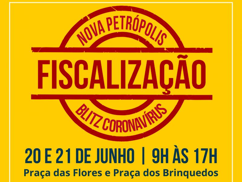 Foto de capa da notícia: Nova Petrópolis promove ação de fiscalização dias 20 e 21 de junho