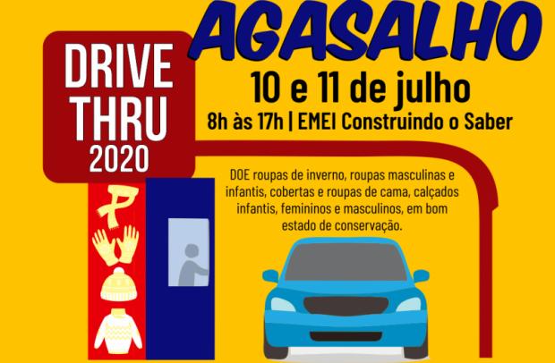 Foto de capa da notícia: Campanha do Agasalho 2020 será drive-thru em Nova Petrópolis
