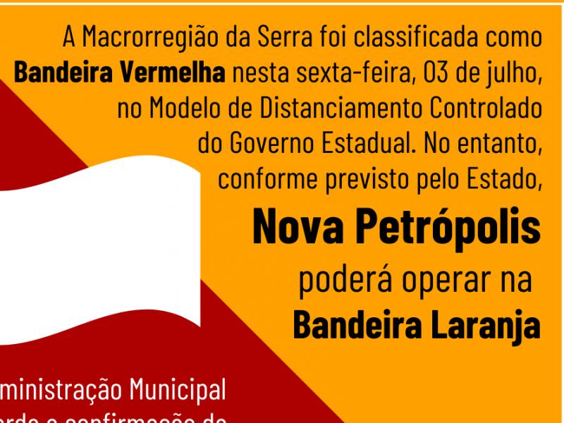 Foto de capa da notícia: Bandeira Vermelha: Macrorregião Serra vai recorrer 🚩