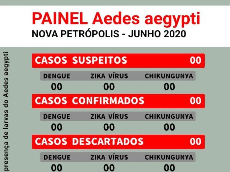 Foto de capa da notícia: Nova Petrópolis lança painel Aedes aegypti para atualizar comunidade