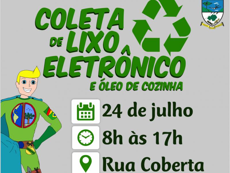 Foto de capa da notícia: Nova Petrópolis promove Coleta de Lixo Eletrônico dia 24 de julho