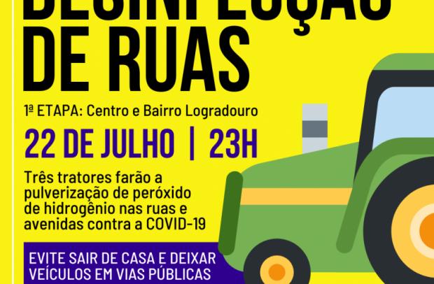Foto de capa da notícia: Nova Petrópolis fará desinfecção de ruas e avenidas contra a COVID-19