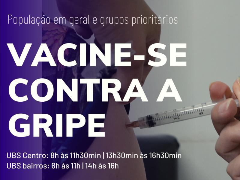 Foto de capa da notícia: População de Nova Petrópolis ainda pode se vacinar contra a gripe