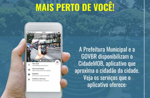 Foto de capa da notícia: Nova Petrópolis disponibiliza aplicativo CidadeMOB