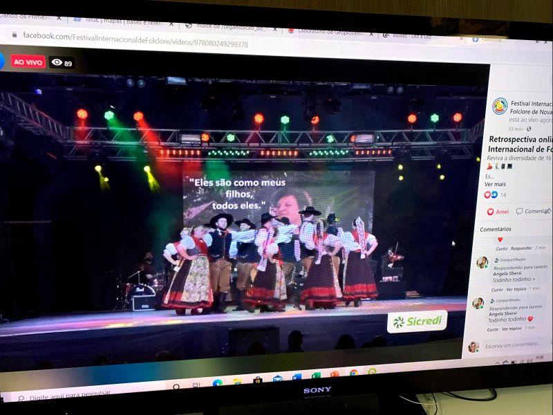 Foto de capa da notícia: Retrospectiva online do Festival Internacional de Folclore de Nova Petrópolis atingiu mais de 60 mil visualizações em 18 dias